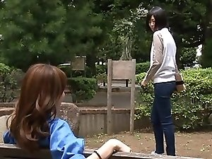 Real Japanese tgirls outdoor
