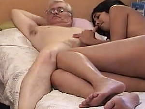 Old daddy fucks young Thai ladyboy - free sex tube